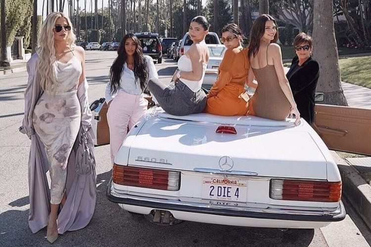 Kardashian-Jenners Matched Their Luxury Cars