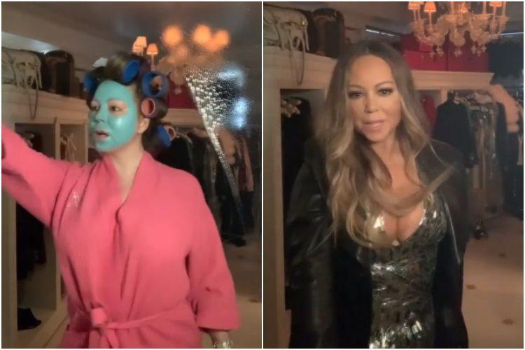 Mariah Carey Shares #WipeItDown Challenge